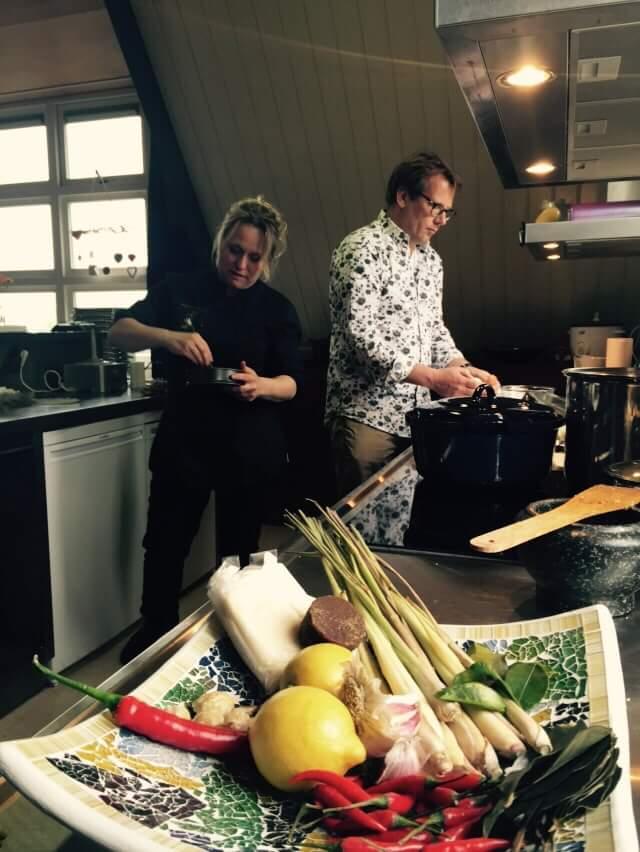 Koken met Patrick Lodiers van het programma De Reunie